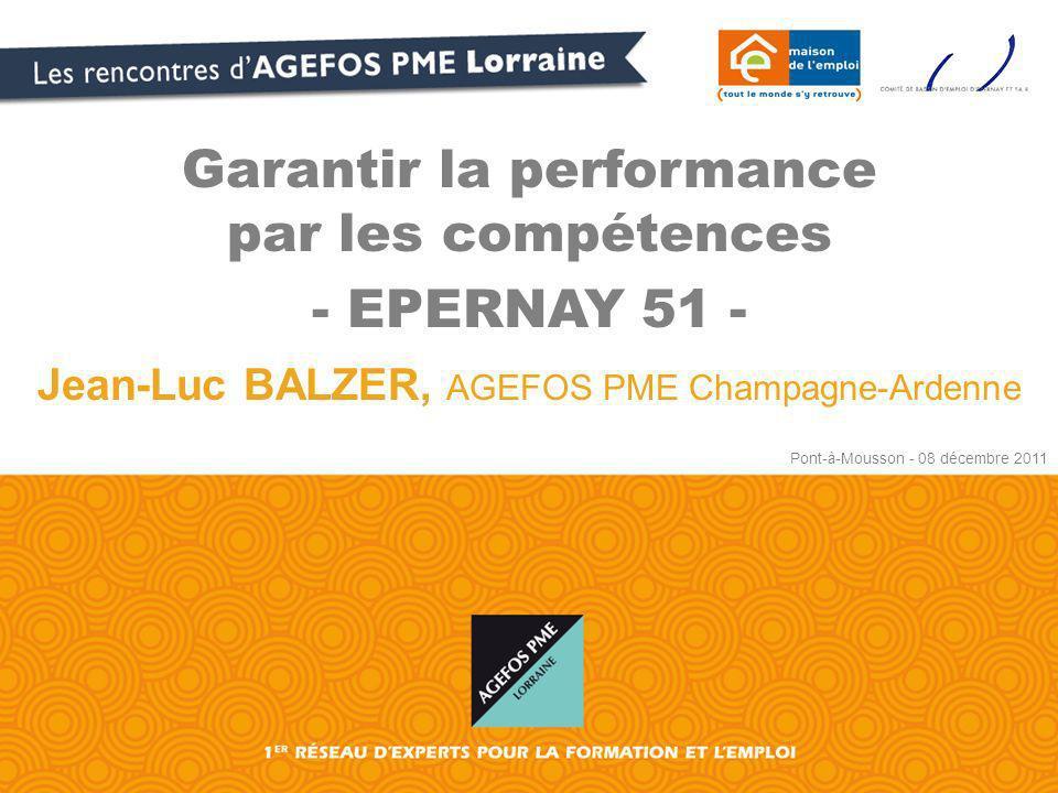 Garantir la performance par les compétences