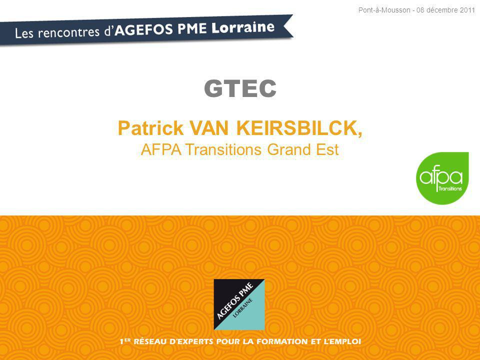 Patrick VAN KEIRSBILCK, AFPA Transitions Grand Est