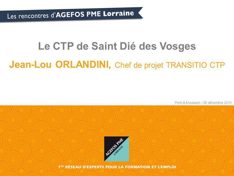 Le CTP de Saint Dié des Vosges