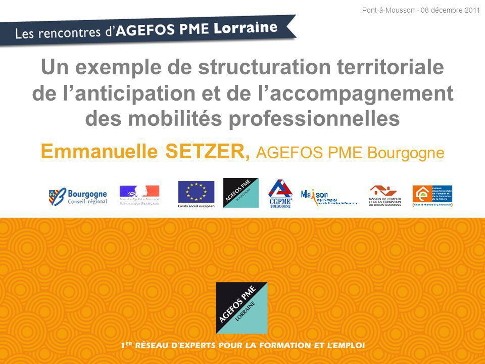 Emmanuelle SETZER, AGEFOS PME Bourgogne