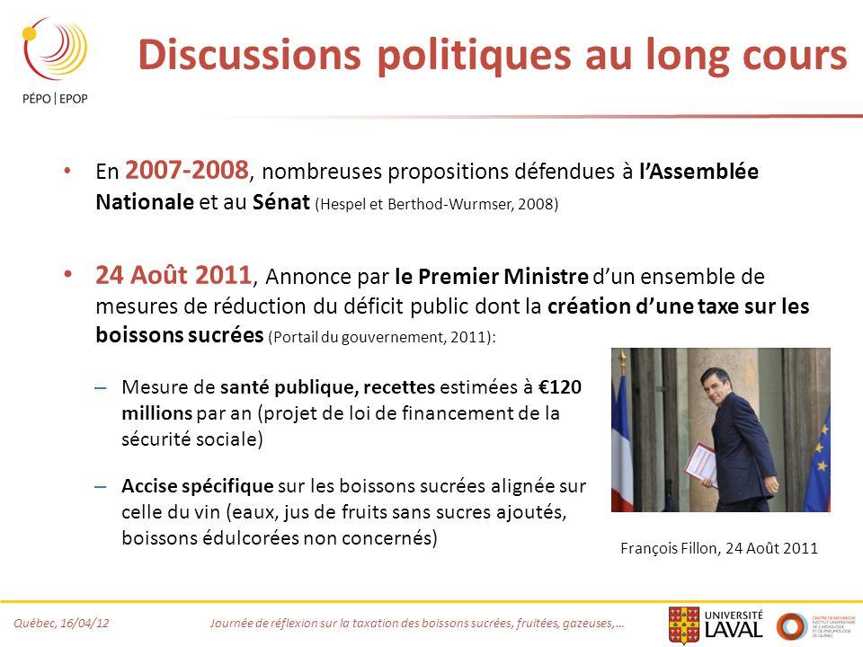 Discussions politiques au long cours