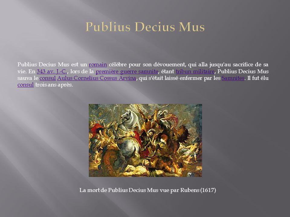 Publius Decius Mus
