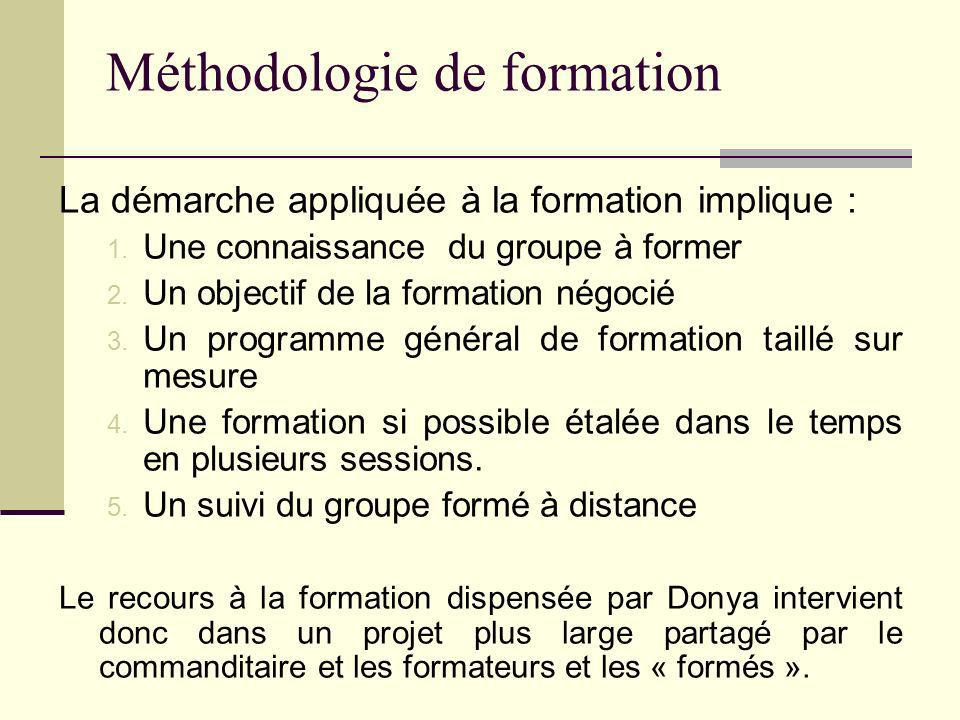 Méthodologie de formation