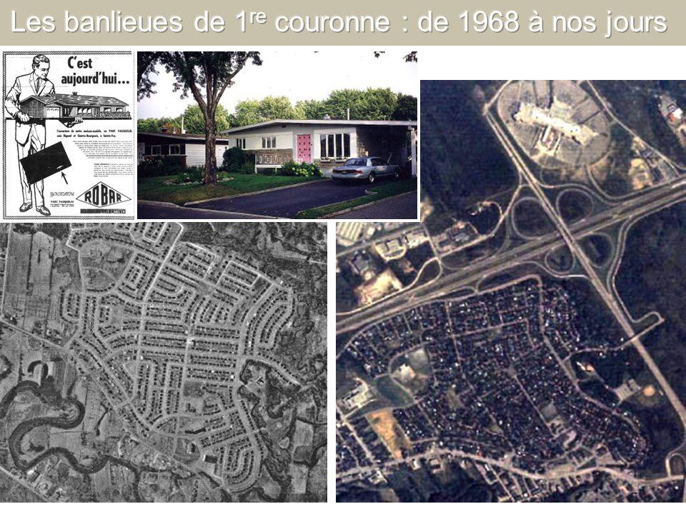 Les banlieues de 1re couronne : de 1968 à nos jours