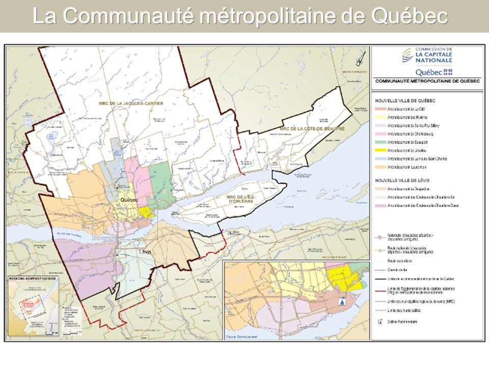 La Communauté métropolitaine de Québec