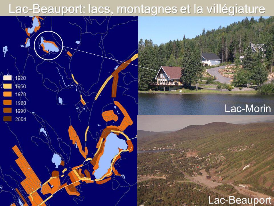 Lac-Beauport: lacs, montagnes et la villégiature