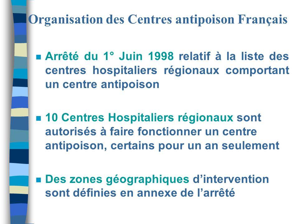 Organisation des Centres antipoison Français