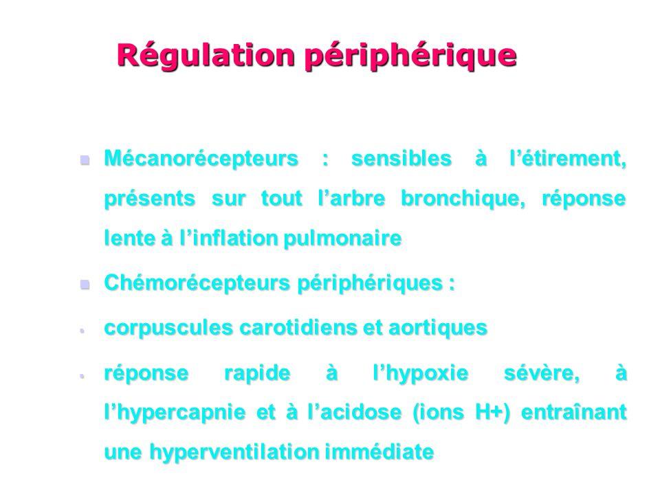 Régulation périphérique
