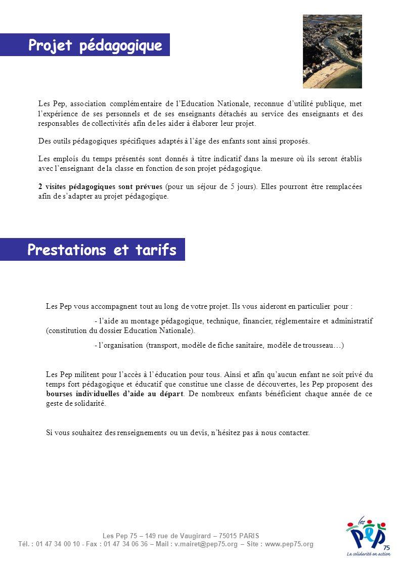 Les Pep 75 – 149 rue de Vaugirard – 75015 PARIS