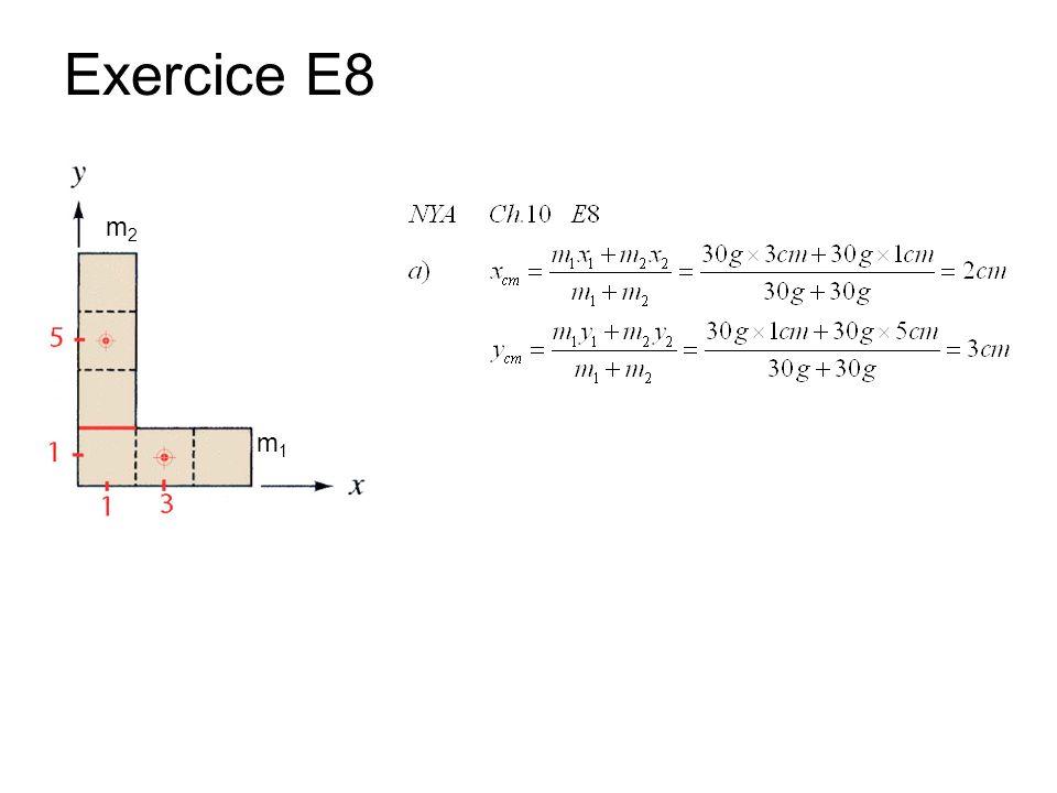 Exercice E8 m2 m1