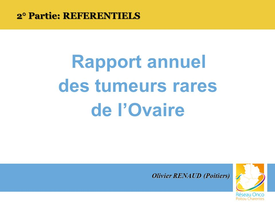 2° Partie: REFERENTIELS