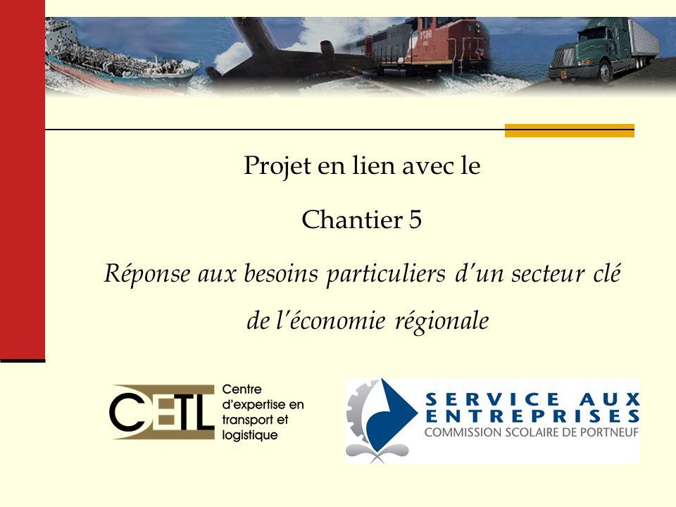 Centre d'expertise en transport et logistique (CETL)