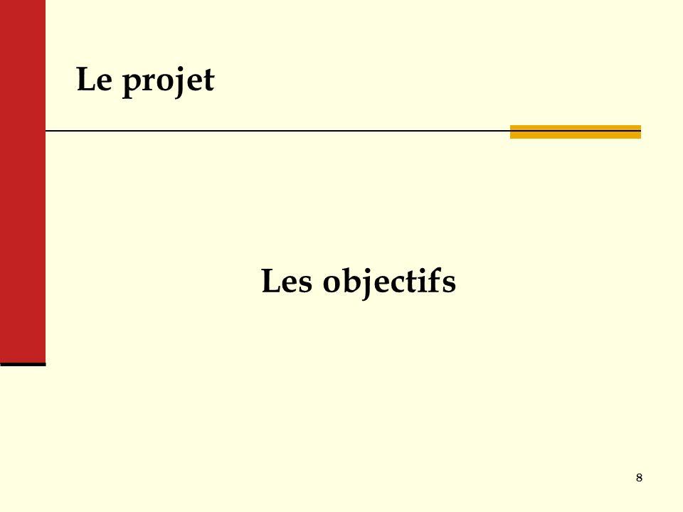 Le projet Les objectifs