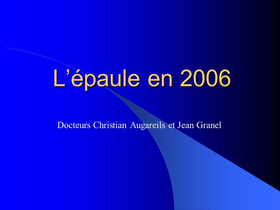 Docteurs Christian Augareils et Jean Granel