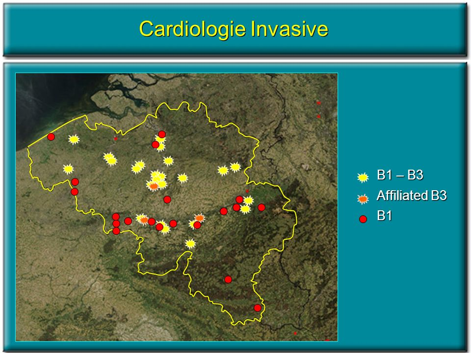 Cardiologie Invasive B1 – B3 Affiliated B3 B1