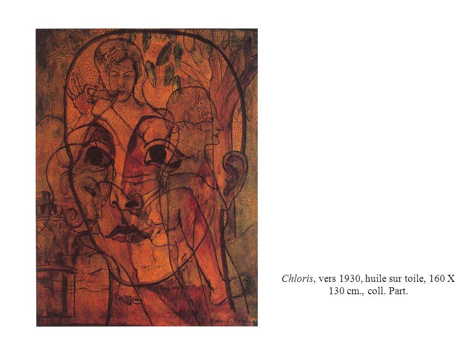 Chloris, vers 1930, huile sur toile, 160 X 130 cm., coll. Part.