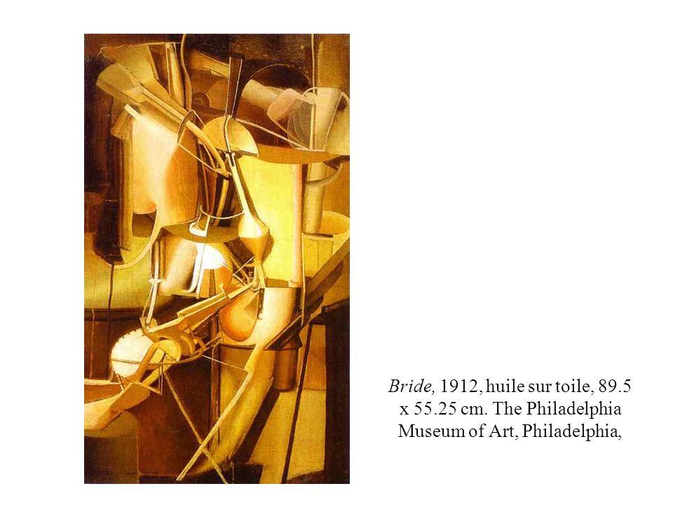 Bride, 1912, huile sur toile, 89. 5 x 55. 25 cm