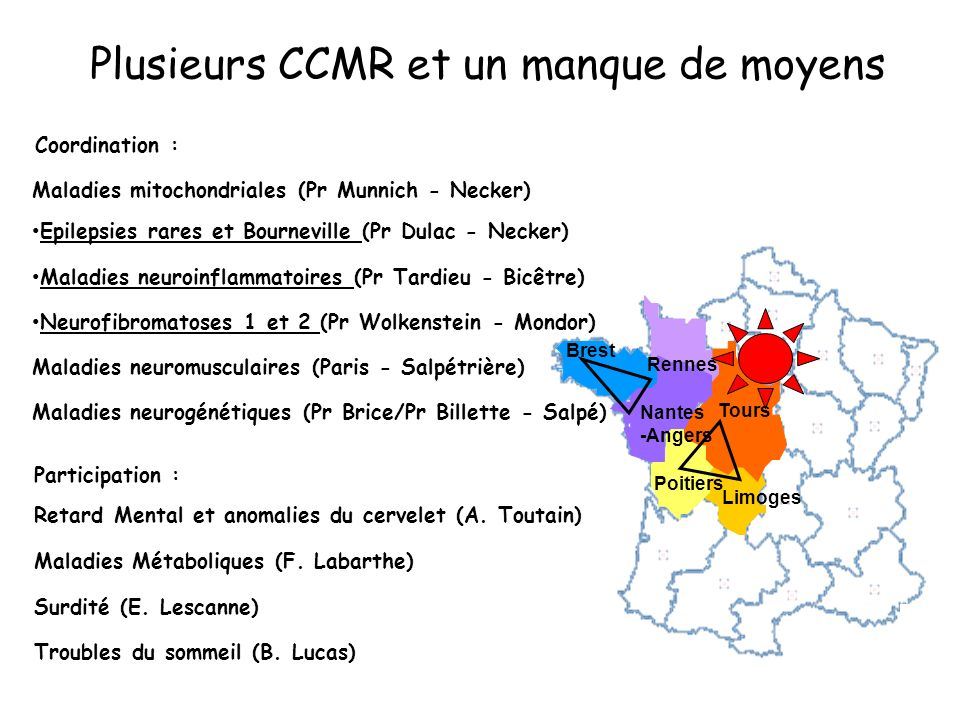 Plusieurs CCMR et un manque de moyens