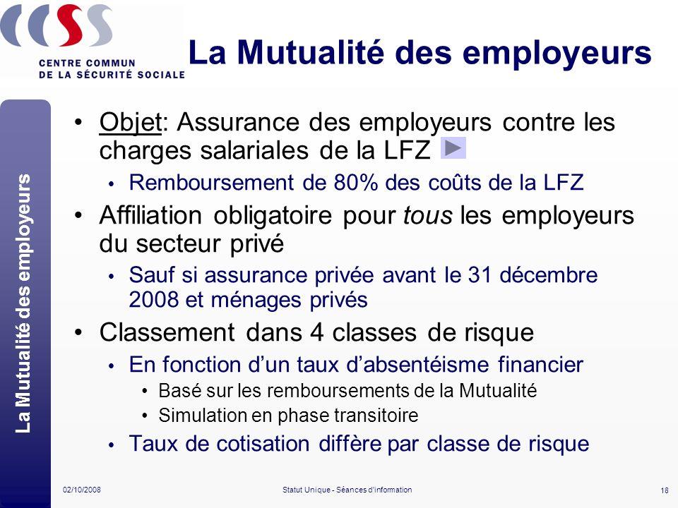 La Mutualité des employeurs