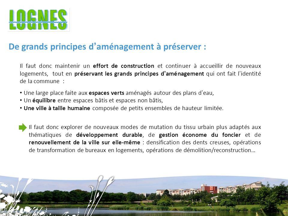 De grands principes d'aménagement à préserver :