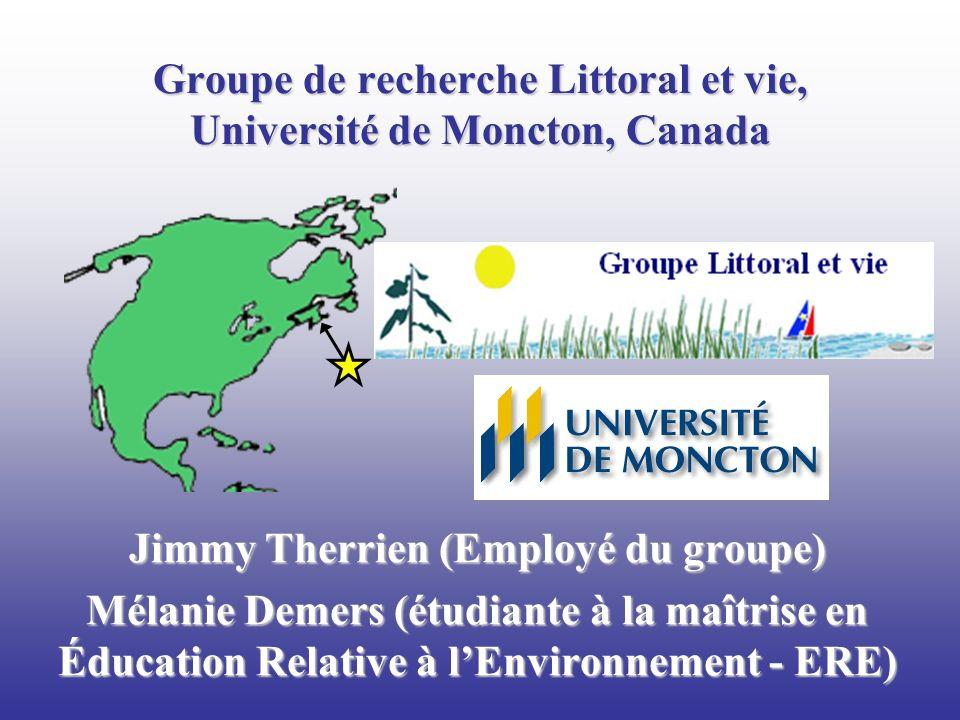 Groupe de recherche Littoral et vie, Université de Moncton, Canada