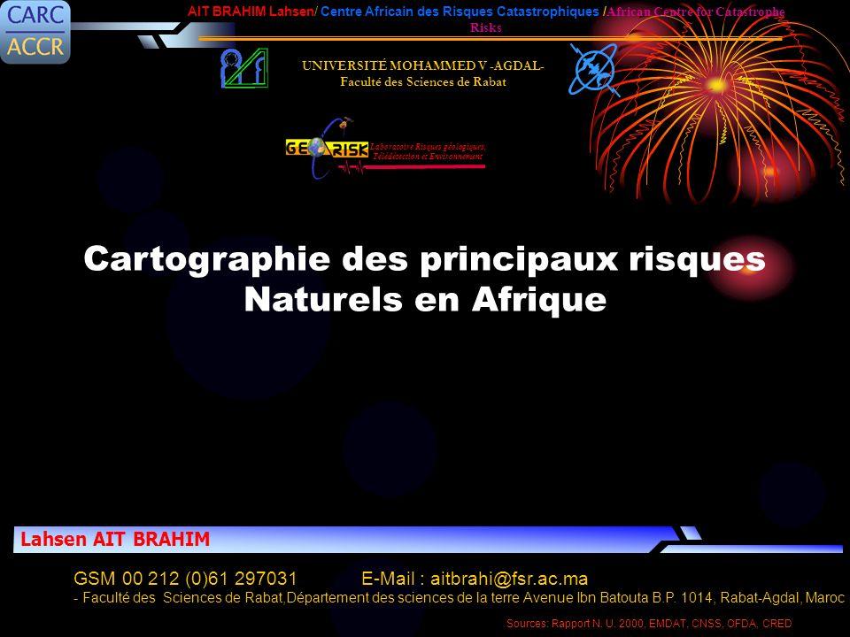 UNIVERSITÉ MOHAMMED V -AGDAL- Faculté des Sciences de Rabat