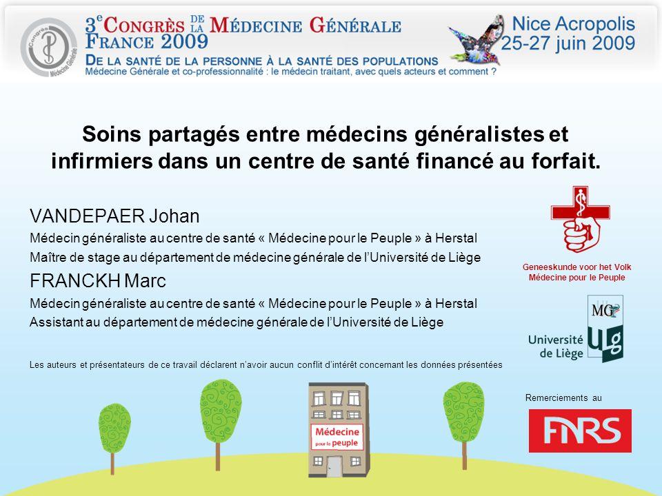 Geneeskunde voor het Volk Médecine pour le Peuple