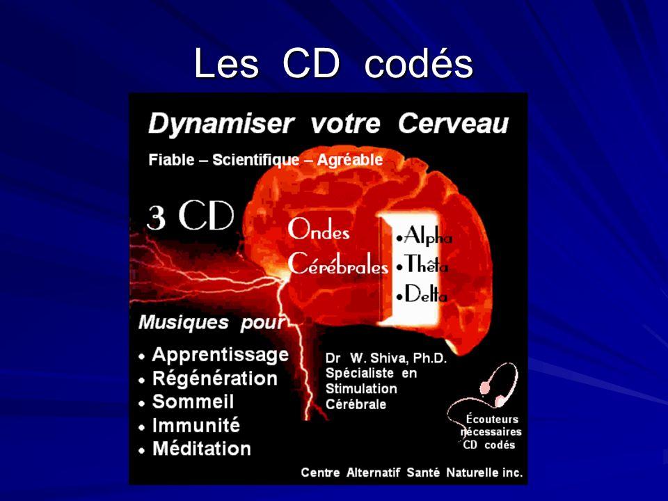 Les CD codés
