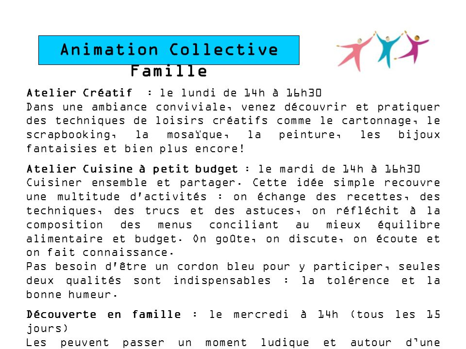 Animation Collective Famille