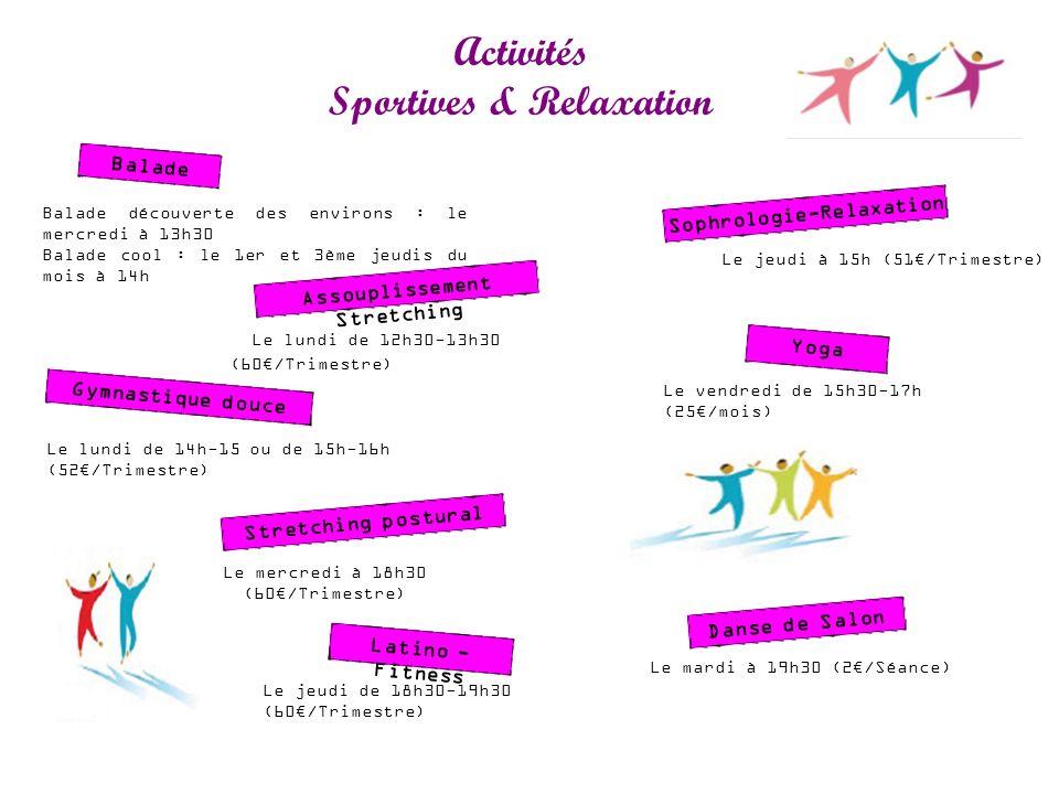 Activités Sportives & Relaxation