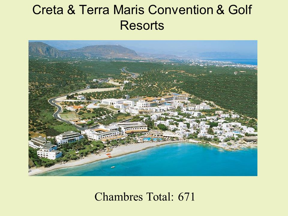 Creta & Terra Maris Convention & Golf Resorts