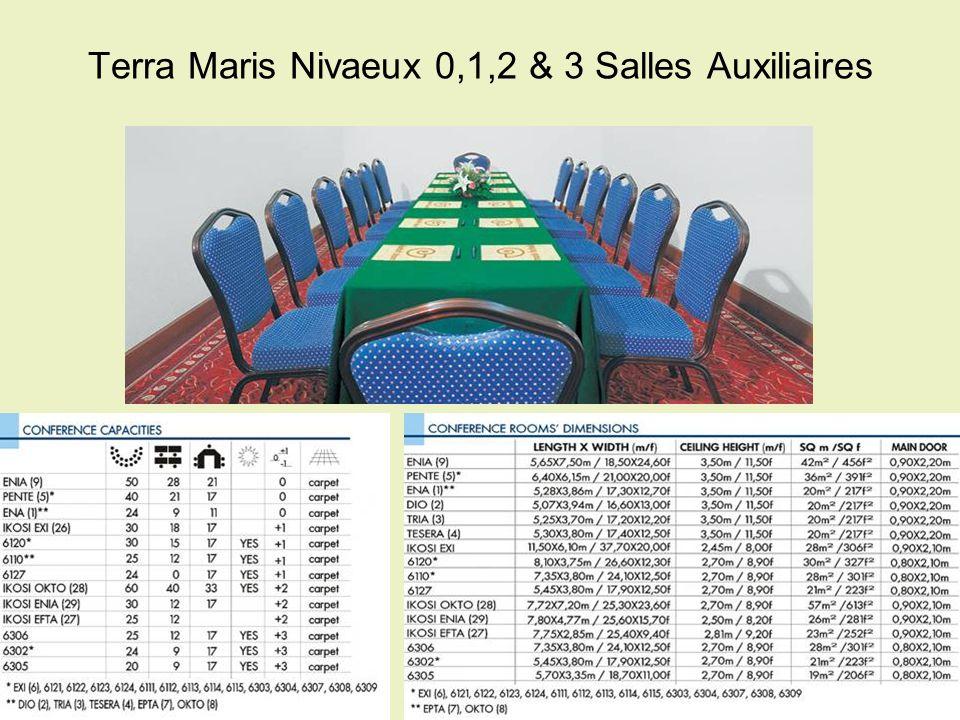 Terra Maris Nivaeux 0,1,2 & 3 Salles Auxiliaires