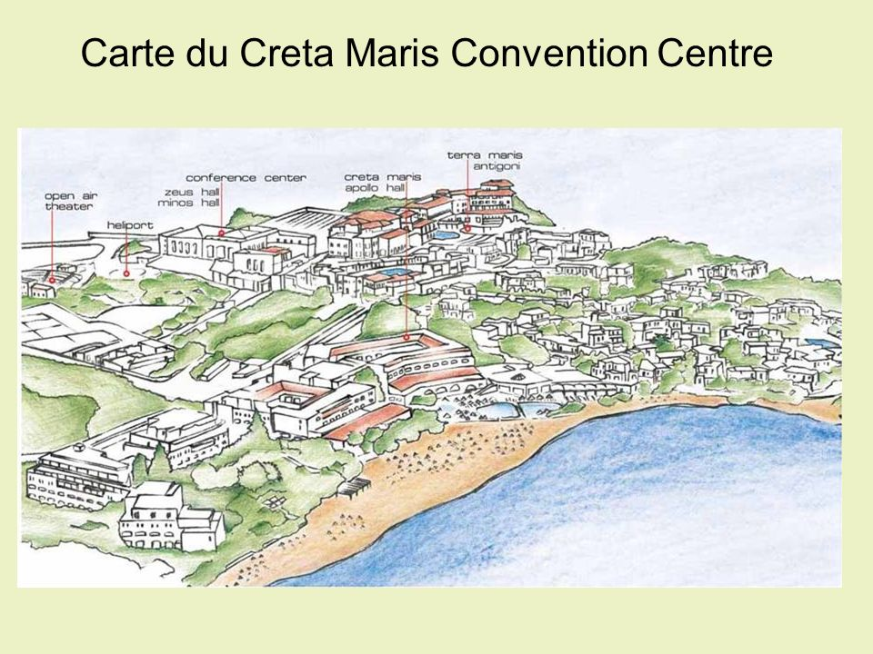 Carte du Creta Maris Convention Centre