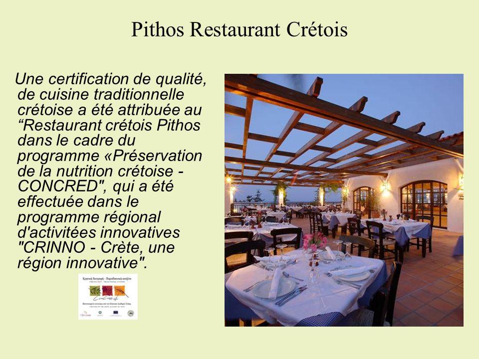 Pithos Restaurant Crétois
