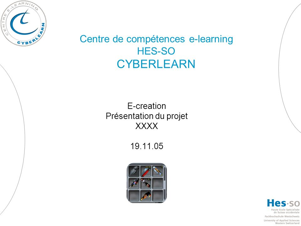 Centre de compétences e-learning HES-SO CYBERLEARN