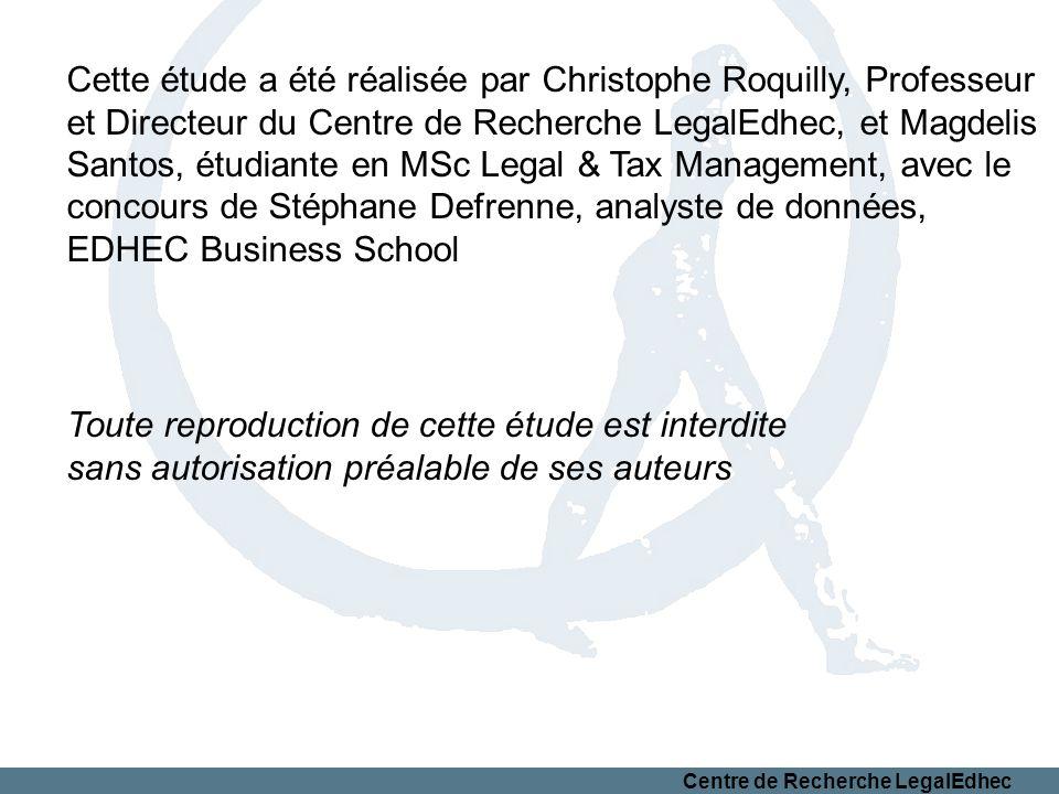 Cette étude a été réalisée par Christophe Roquilly, Professeur
