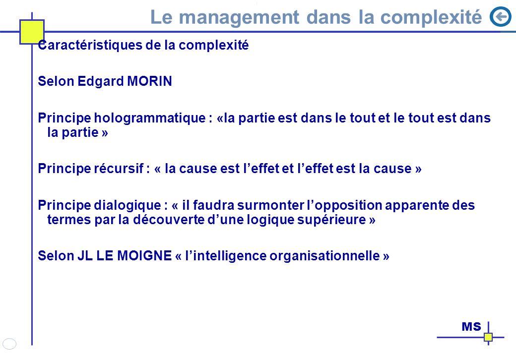 Le management dans la complexité