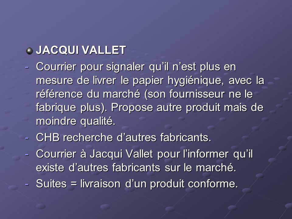 JACQUI VALLET