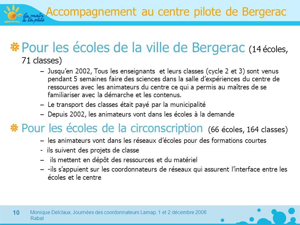 Accompagnement au centre pilote de Bergerac
