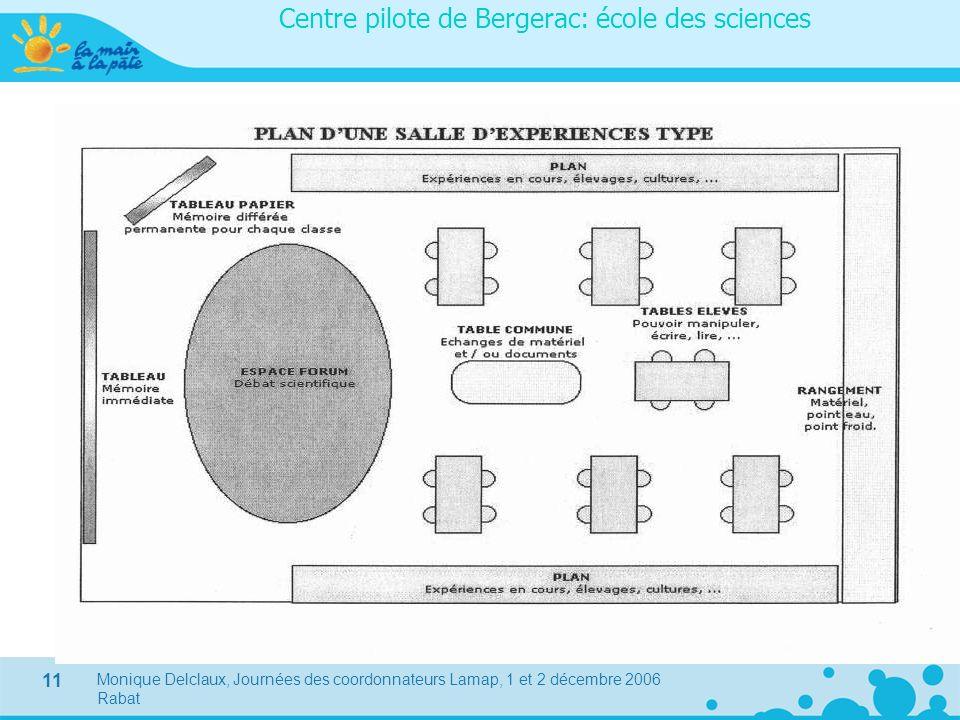 Centre pilote de Bergerac: école des sciences