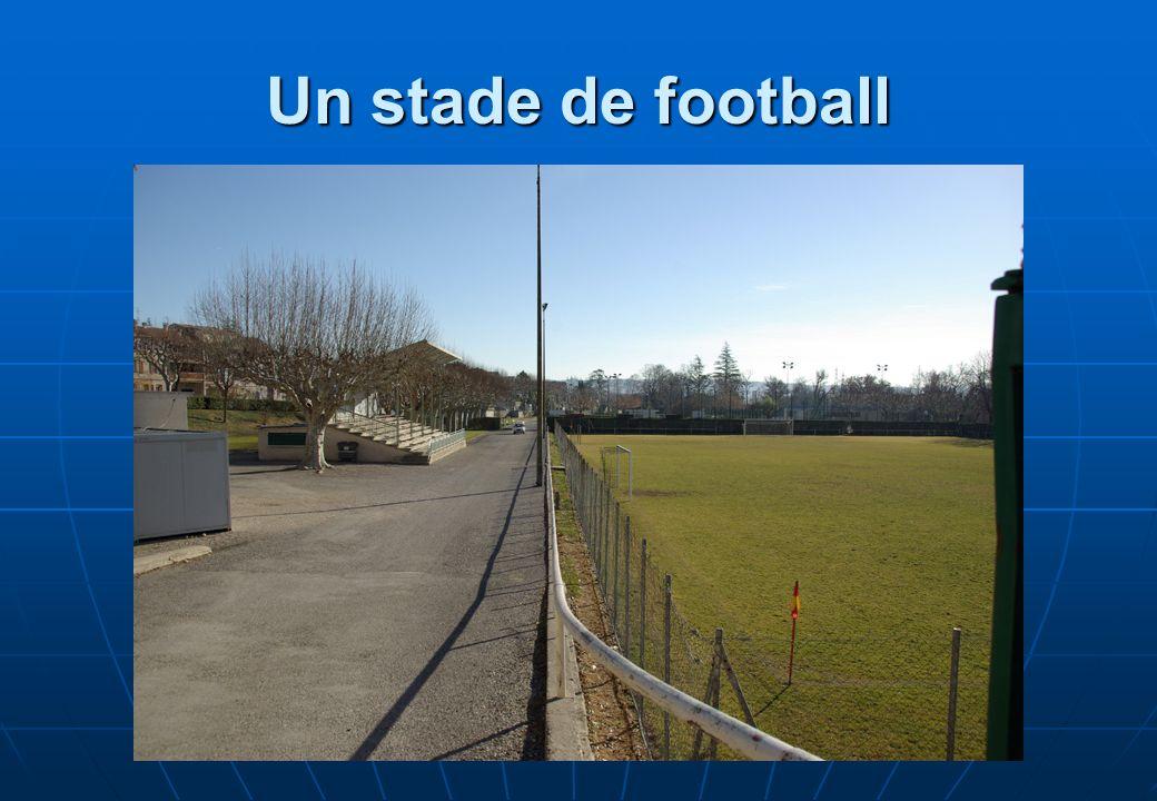 Un stade de football