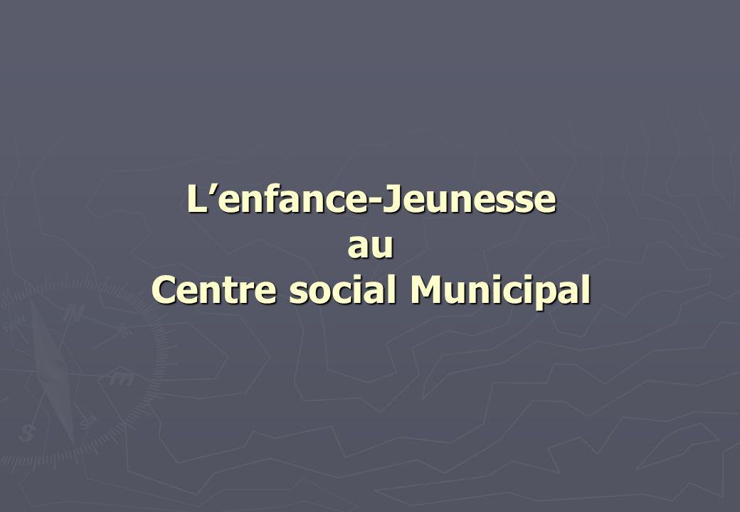 L'enfance-Jeunesse au Centre social Municipal