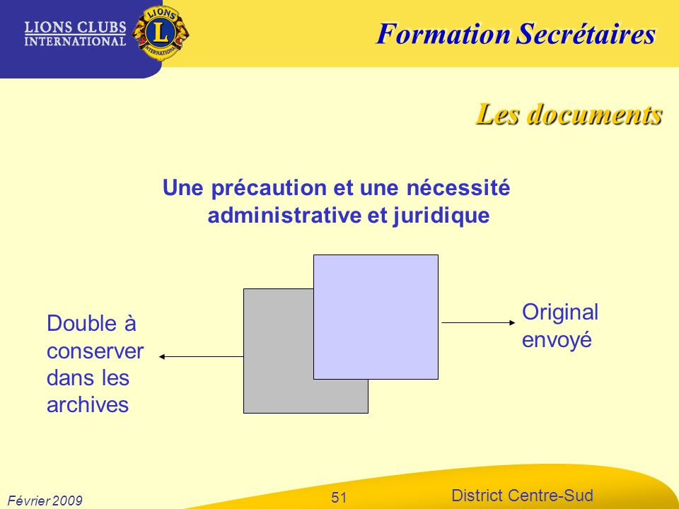 Une précaution et une nécessité administrative et juridique