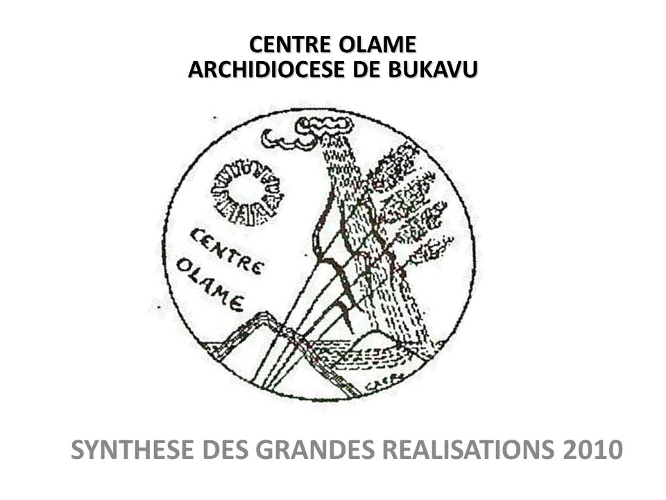 SYNTHESE DES GRANDES REALISATIONS 2010
