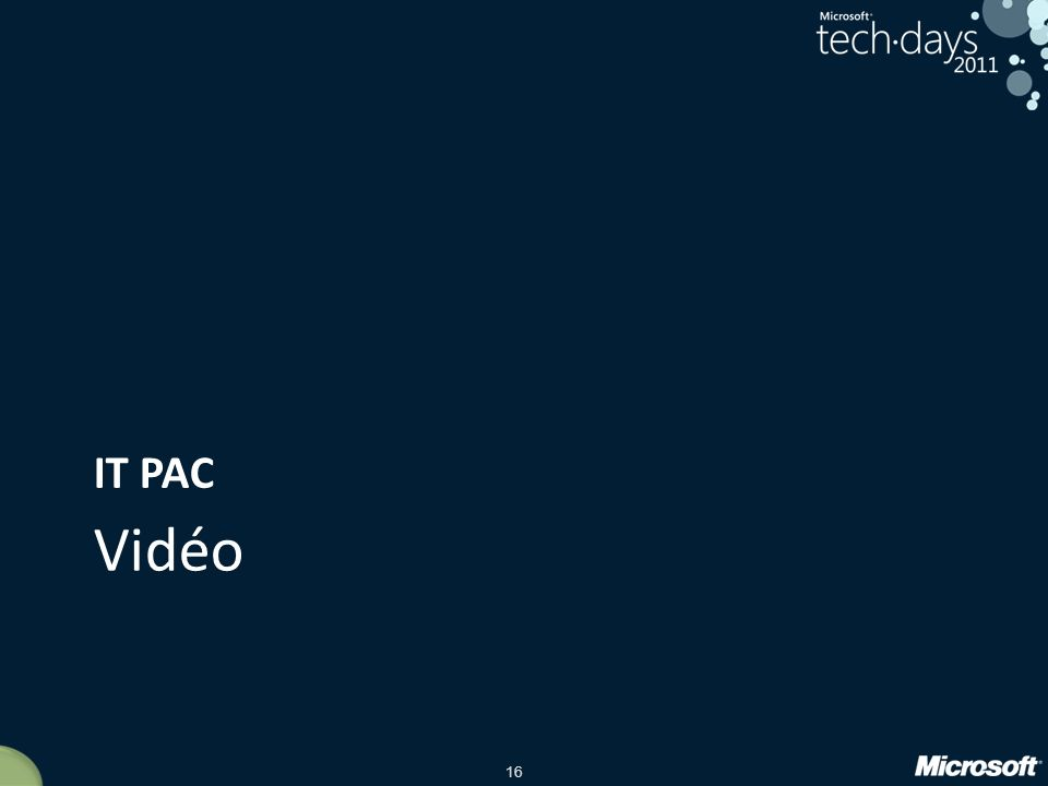 IT PAC Vidéo