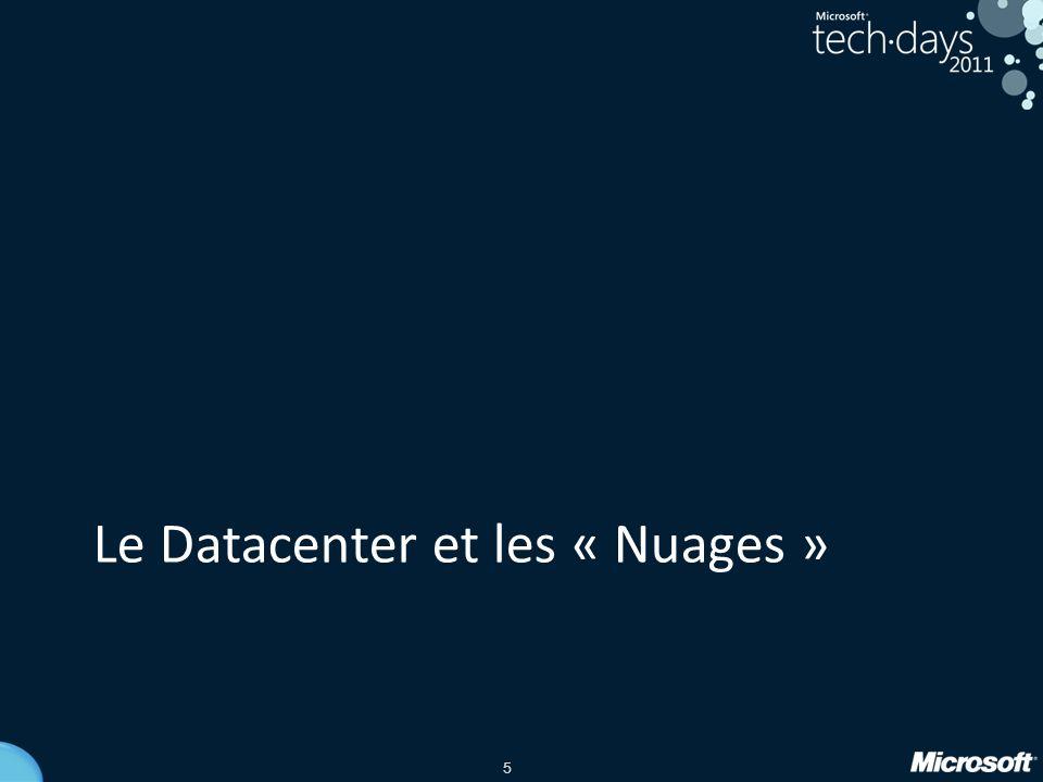 Le Datacenter et les « Nuages »