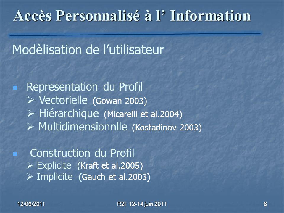Accès Personnalisé à l' Information
