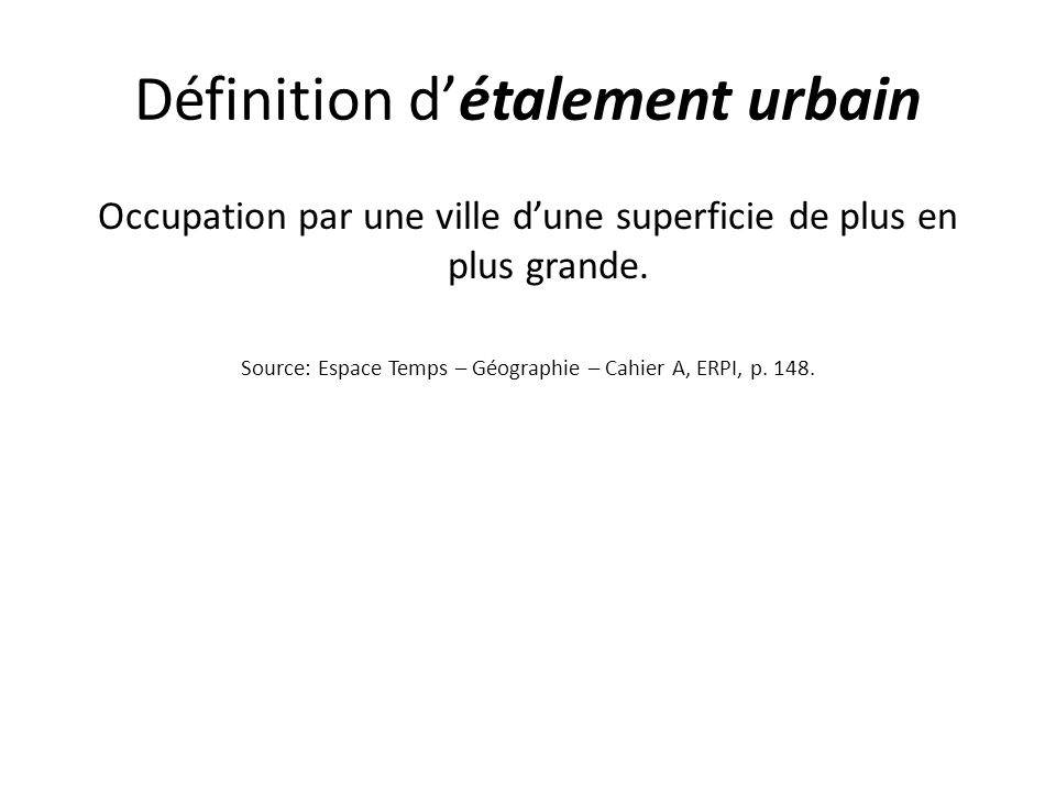 Territoire 6 territoire urbain m tropole ppt video online t l charger - Definition de superficie ...