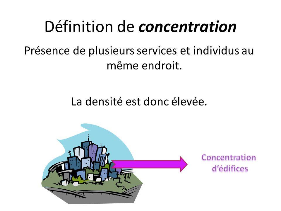 Définition de concentration