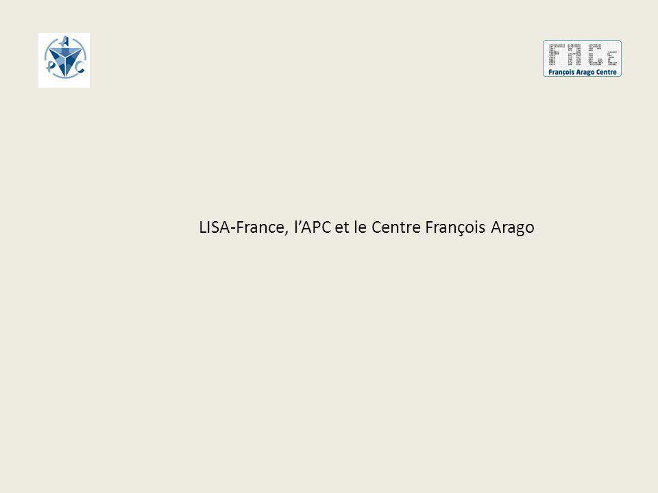 LISA-France, l'APC et le Centre François Arago